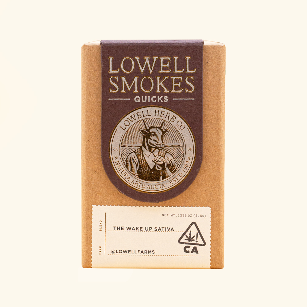 Featured image of Lowell Smokes The Wake Up Sativa Blend